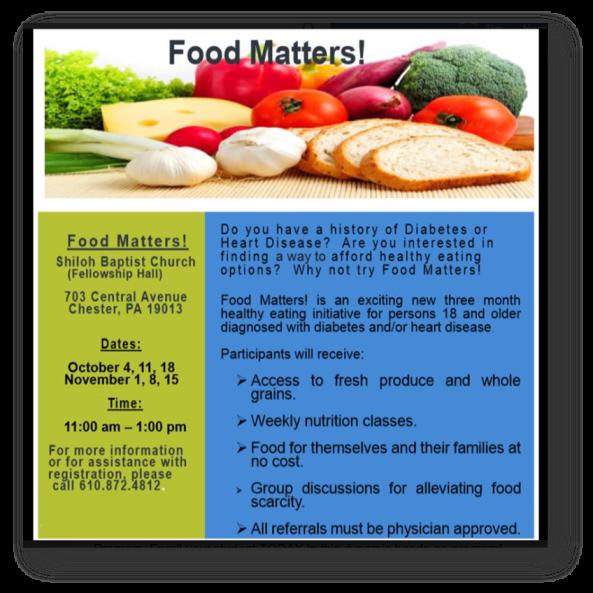 Food Matters - Sep 2018
